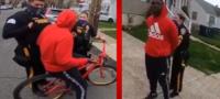 Policías arrestan y grupo de afroamericano por no tener 'licencia para andar en bici'