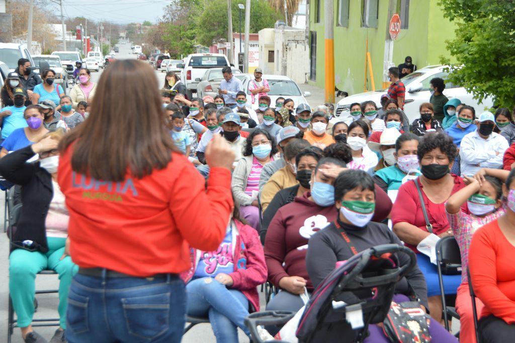 Llevará Lupita Murguía brigada de limpieza a la San Salvador