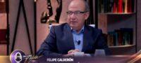 Yo vivo de mis conferencias, AMLO me quitó la pensión presidencial: Calderón