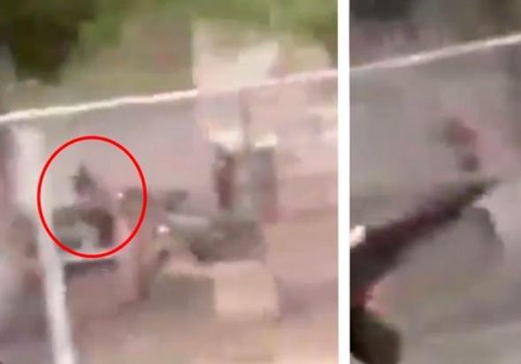 Desde un auto, sicarios del Cártel de Sinaloa rafagean casas de rivales; graban ataque