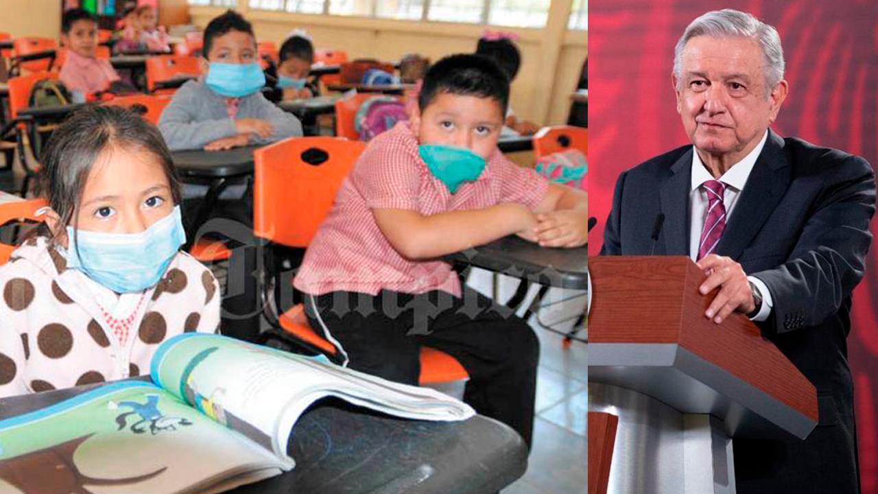 Urge regresar a clases presenciales, no podemos dejar a los niños frente a la TV: AMLO
