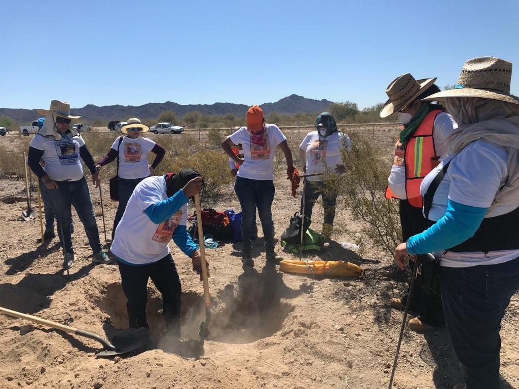 Las Guerreras Buscadoras; colectivo encontró restos humanos en un terreno baldío