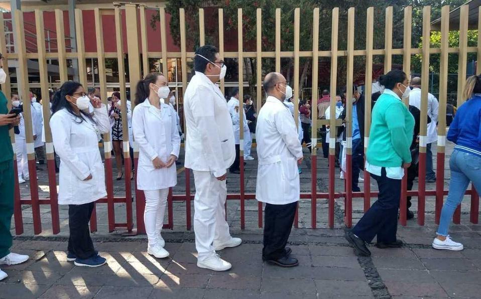 No hay vacunas para médicos de hospitales privados en Coyoacán
