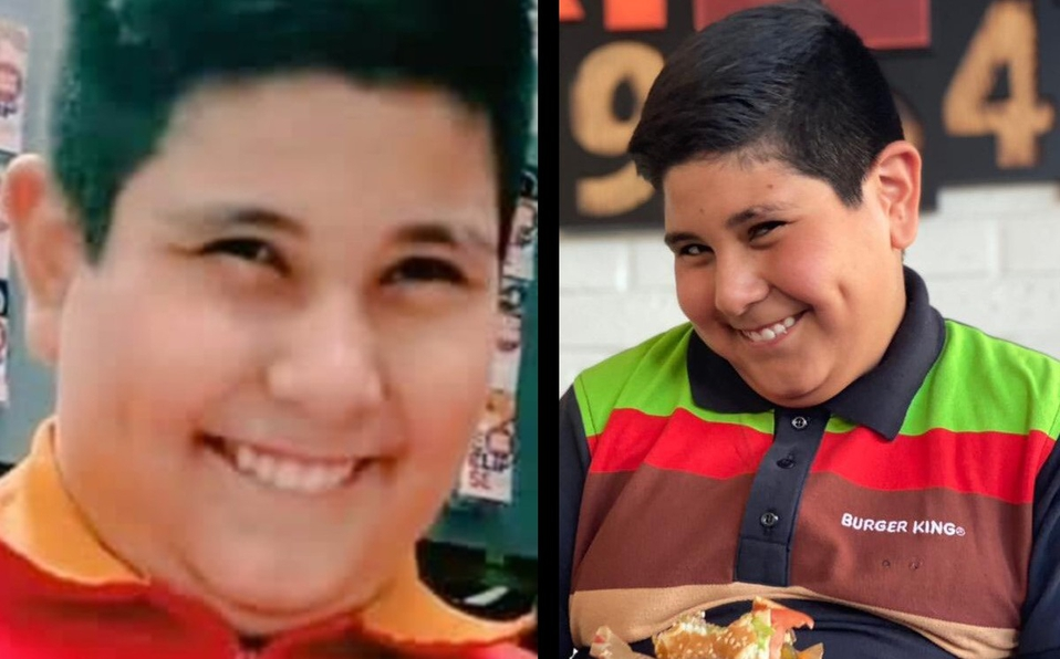 Del OXXO a Burger King: niño se vuelve embajador de la tienda de hamburguesas