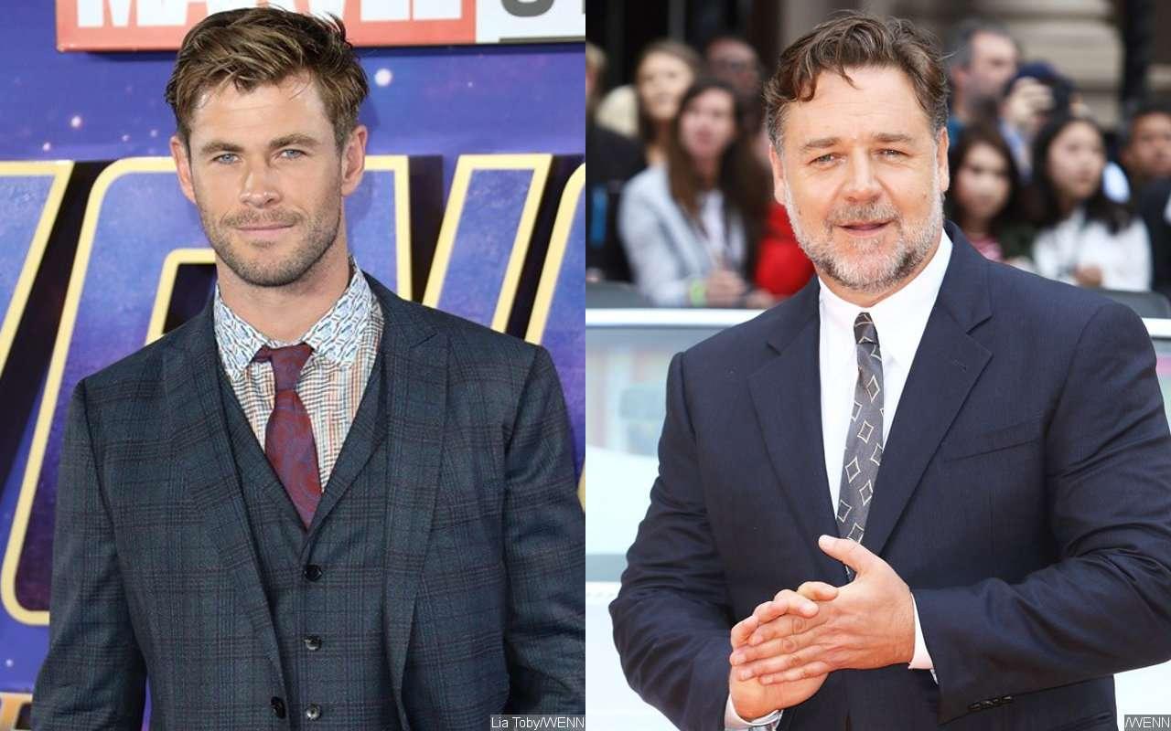 Russell Crowe quiere que Chris Hemsworth sea el protagonista de la secuela de Gladiador