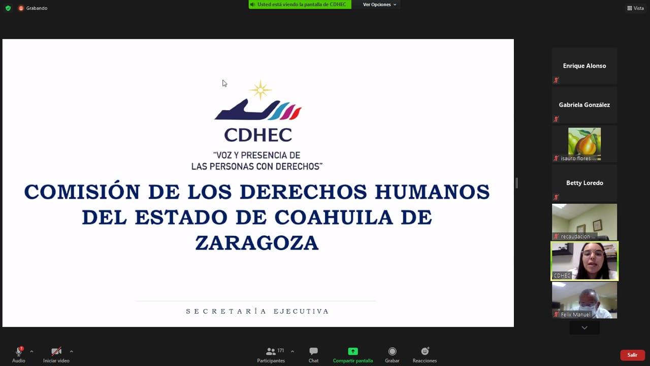 Imparten SEFIRC Coahuila Y CDHEC A Funcionarios Curso De Inteligencia Emocional