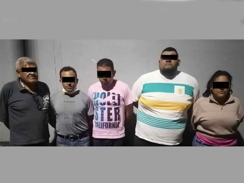 Atrapan a cinco integrantes de La Unión Tepito