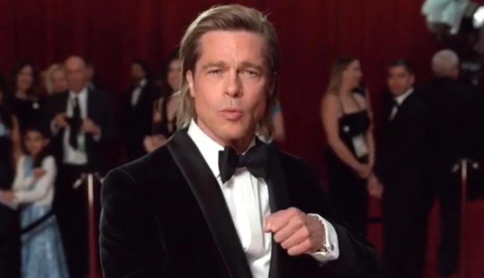 ¿Brad Pitt encontró un nuevo amor en los Premios Oscar 2021?