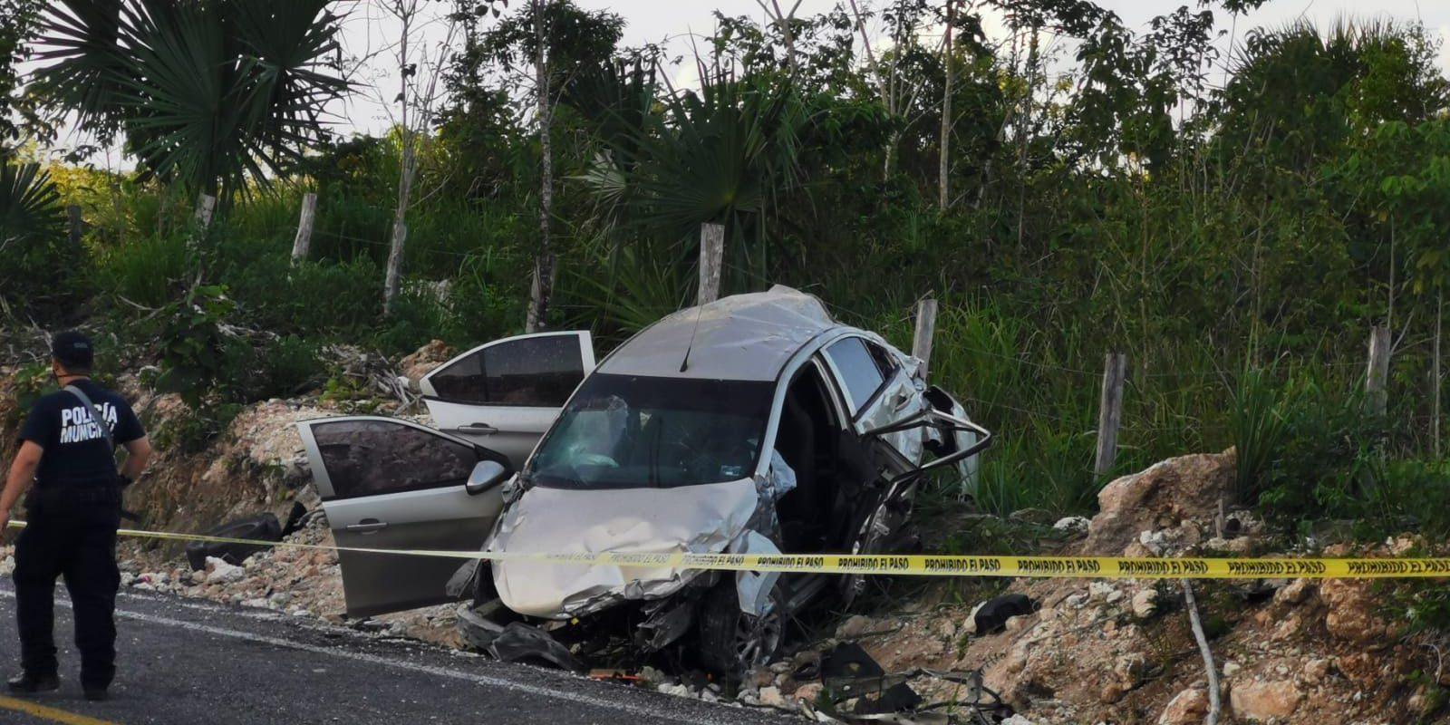 Muere esposa de candidato; regresaban de un mitin cuando sufrieron un accidente vehicular