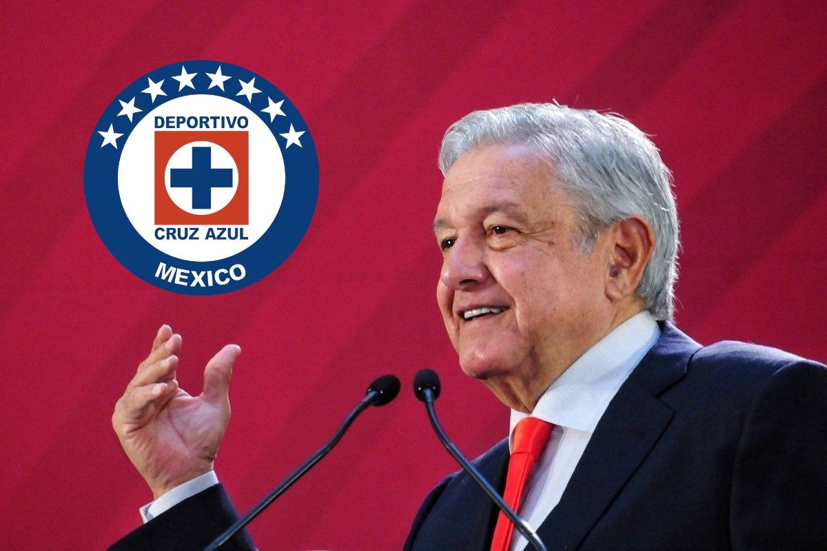 Es muy importante no darse por vencido, ya les tocaba; AMLO felicita otra vez al Cruz Azul