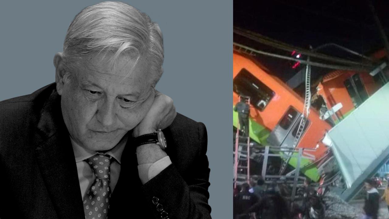 AMLO decreta 3 días de luto por tragedia en Metro de la CDMX