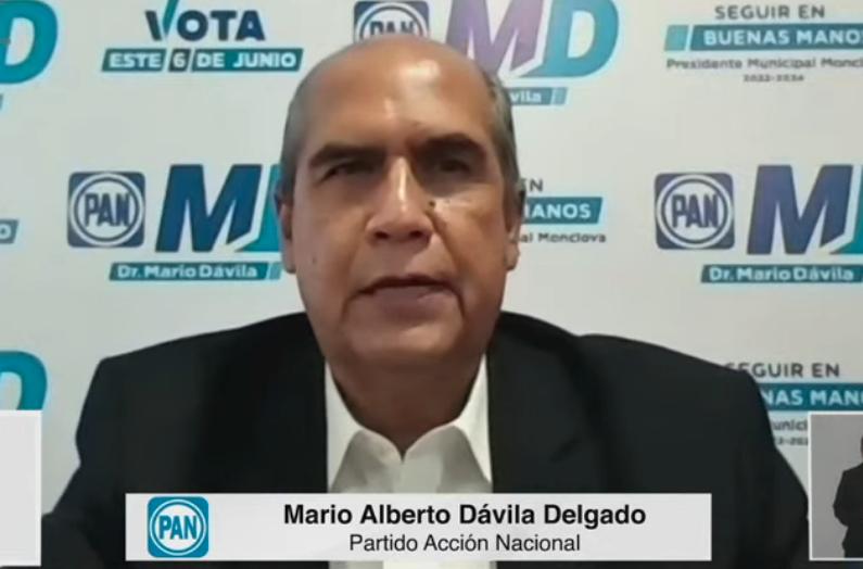 Ofrezco mi experiencia y deseo de servir a los monclovenses: Mario Dávila, candidato del PAN