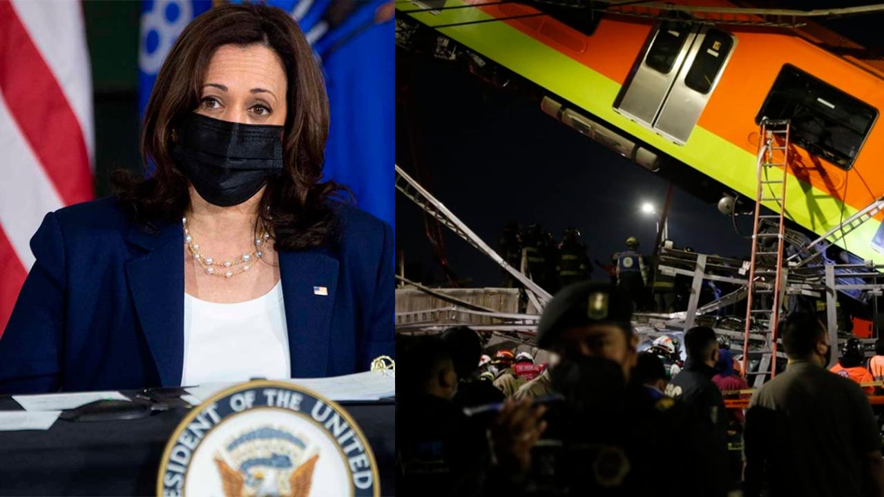 EU se solidariza con México; Kamala Harris envía sus condolencias tras accidente en el Metro de CDMX