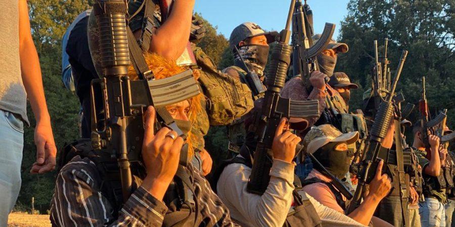 El Mencho gana terreno: Mil 500 pobladores de Aguililla, Michoacán, huyen por el narco