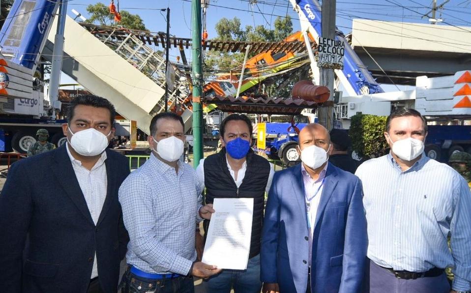 En plena tragedia del Metro de CDMX, panistas se cuelgan para hacer campaña; internautas los tunden