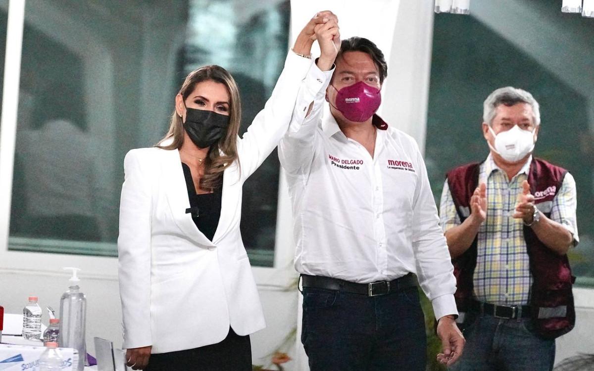 Con Evelyn Salgado, MORENA va a ganar, la gente la eligió: Mario Delgado