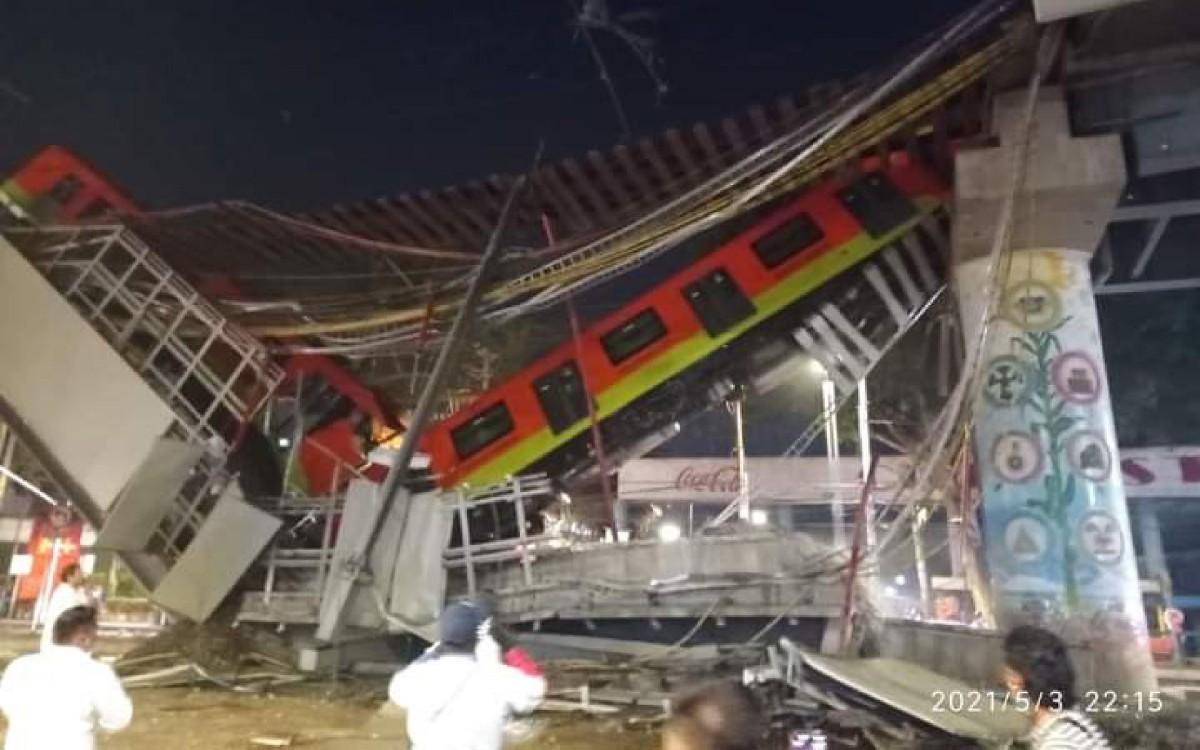 PAN arremeta contra Marcelo Ebrad y exigen sea investigado por tragedia en la L12 del Metro