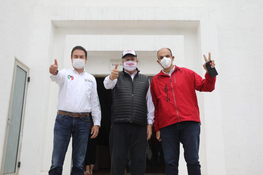 Chema, Jericó Y Jaime, Juntos Por Saltillo