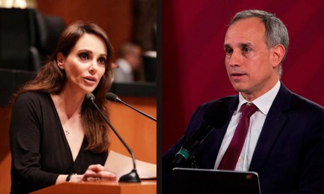 Celebra Lilly Tellez fracaso de López-Gatell; la justicia ha dado razón a los médicos