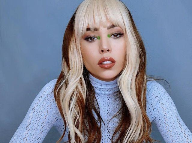 Millones de seguidores de Danna Paola fueron sorprendidos por su cabellera en color rubio