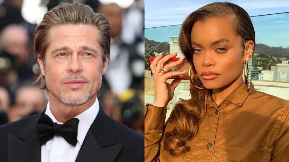 Brad Pitt inició el romance en los Premios Oscar 2021