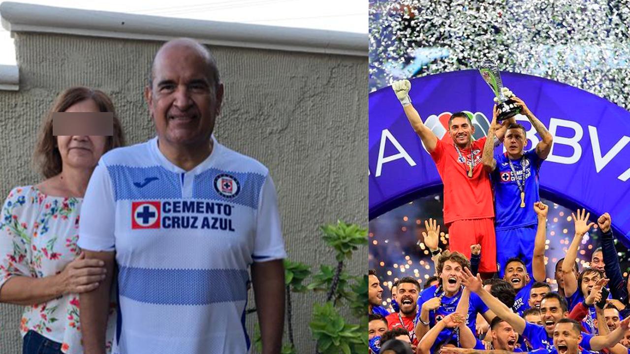 No quería irme sin ver campeón a mi Cruz Azul: fanático con cáncer celebra triunfo de La Máquina