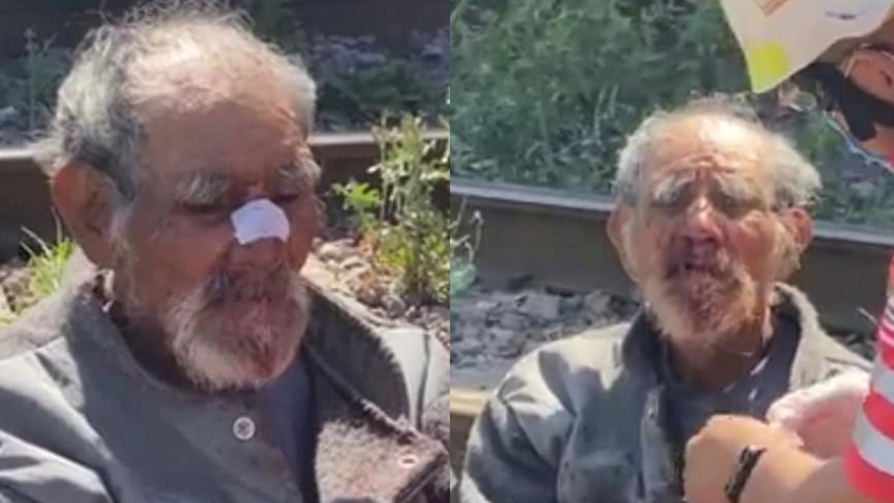 Policiaca: Golpean a abuelito en PN y lo tiran en las vías del tren; buscan a su familia