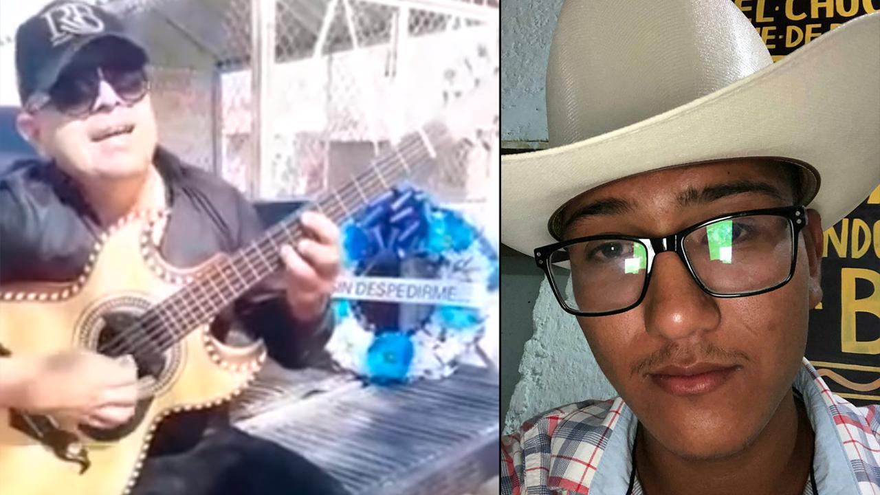 Mi madre no ha dejado de llorar: Despiden a Lalo con música