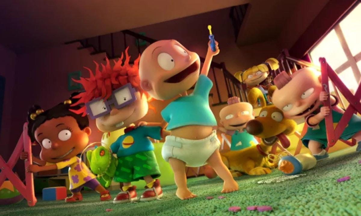Primer vistazo del remake de Rugrats: Aventuras en pañales para Paramount+