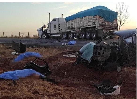 Cuatro muertos y 7 heridos dejan accidentes automovilísticos