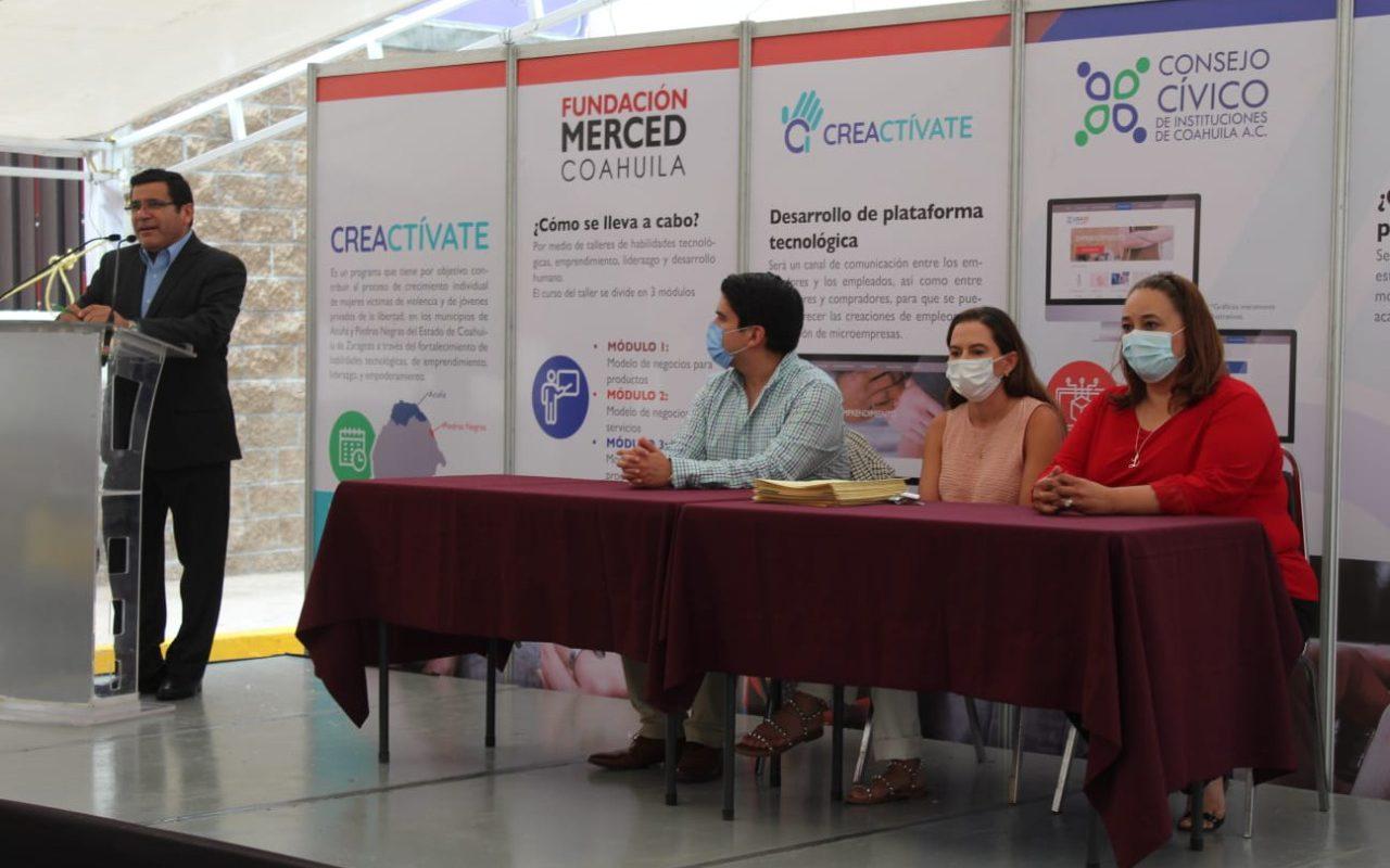 Genera Coahuila acciones en favor del empoderamiento de las mujeres