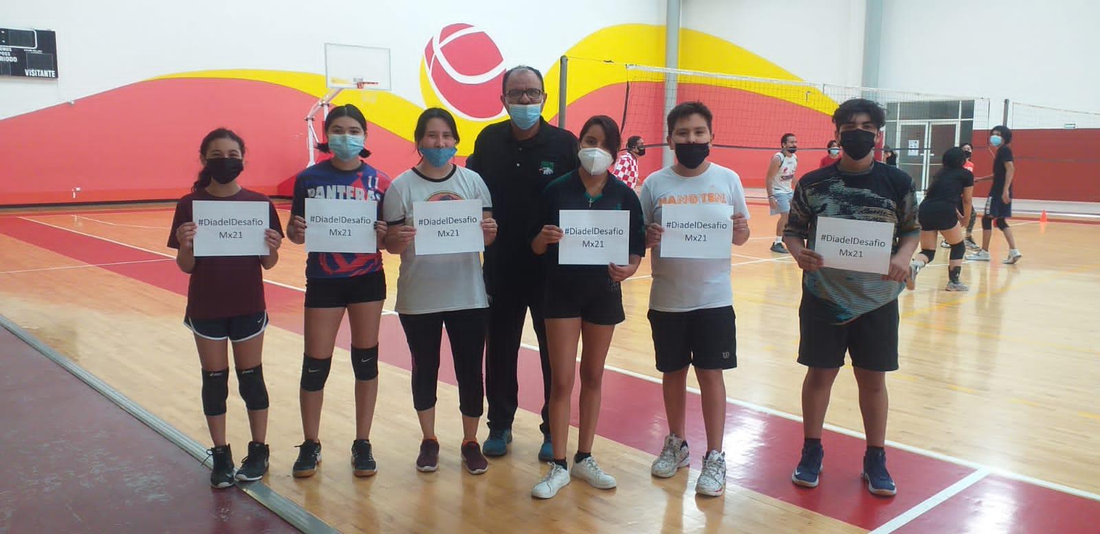 Promueven cultura física con el día de desafío MX21 entre los coahuilenses