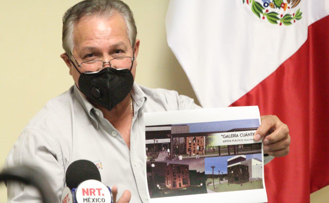 Se da a conocer al ganador del concurso de escultura insignia del Centro De Cultura Científica del COECYT Coahuila