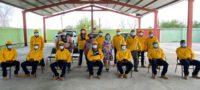 Ayuntamiento de San Buenaventura entrega uniformes de protección a brigada forestal