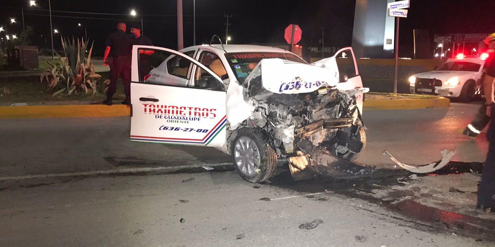 Policiaca: Muere taxista en cruento choque en Monclova