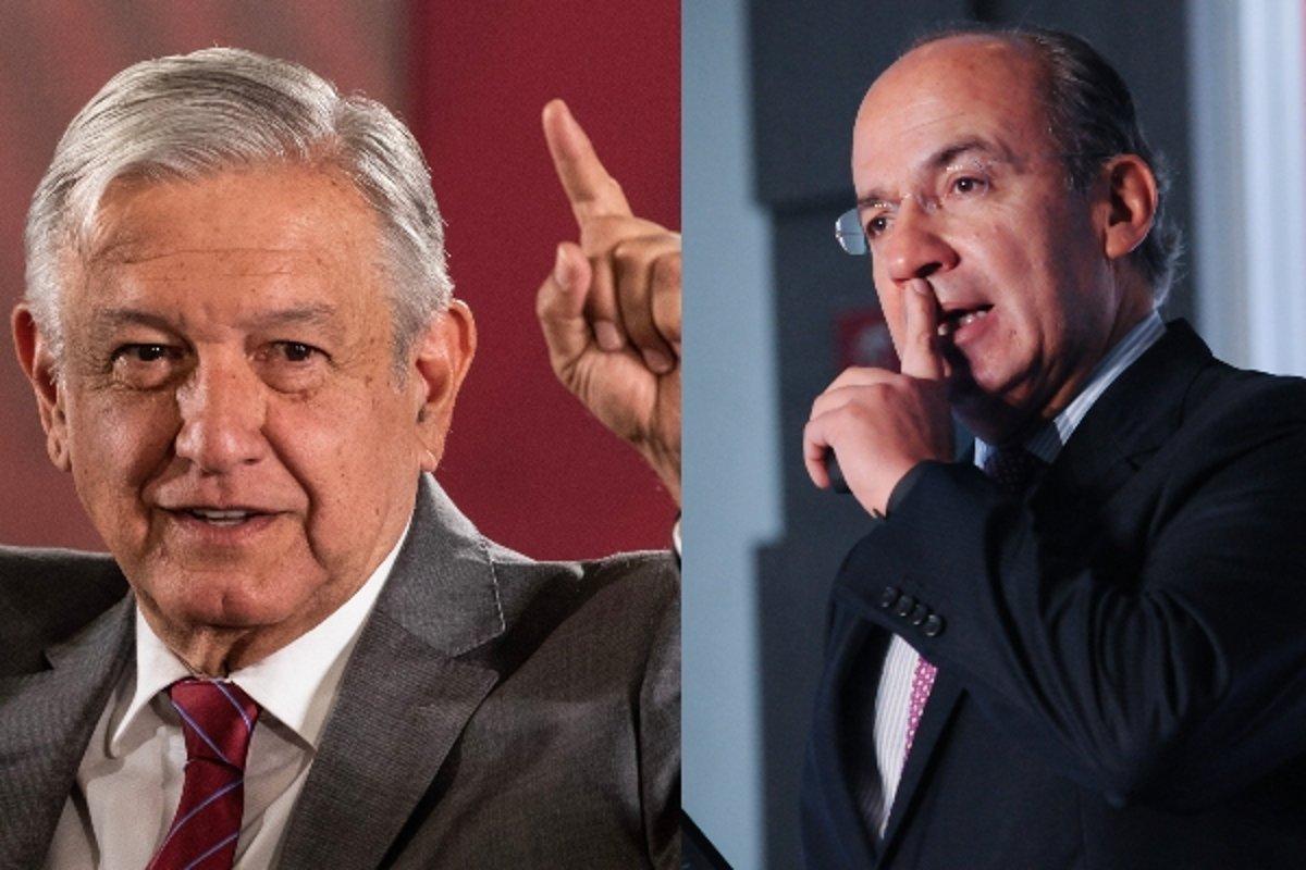 Sinceramente, espero que salga adelante del COVID: AMLO desea recuperación a Felipe Calderón