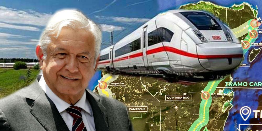 Tren Maya de AMLO comenzará a operar hasta 2023, revela Fonatur
