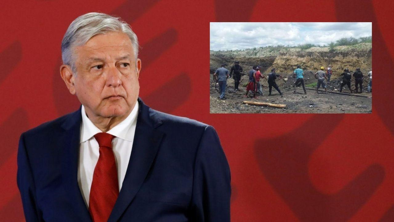 Se trabajaron 150 horas en el rescate de mineros; AMLO lamenta tragedia de Múzquiz, Coahuila