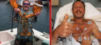 'Tengo moretones por todos lados': Pescador es tragado por una ballena y sobrevive para contarlo