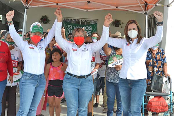 PRI Coahuila arrasa en diputaciones federales: Lupita Oyervides