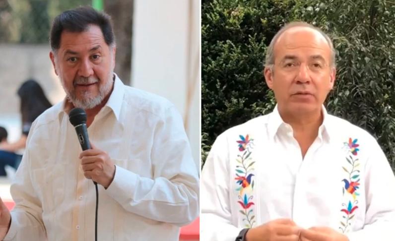 Quiero que sanes del COVID para llevarte a la cárcel: Gerardo Noroña a Felipe Calderón