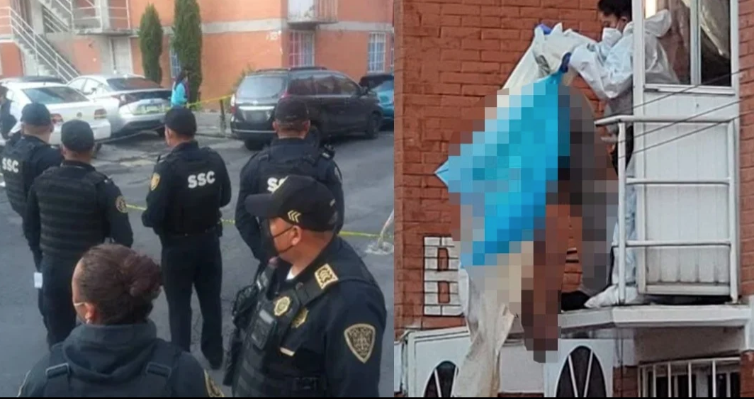 Con 6 balazos, Oswaldo asesinó a su pareja e hijastra de 12 años; se suicidó en un balcón