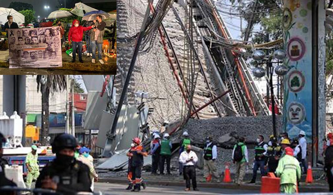Que se investigue a todos; AMLO busca justicia ante tragedia de L12 en CDMX