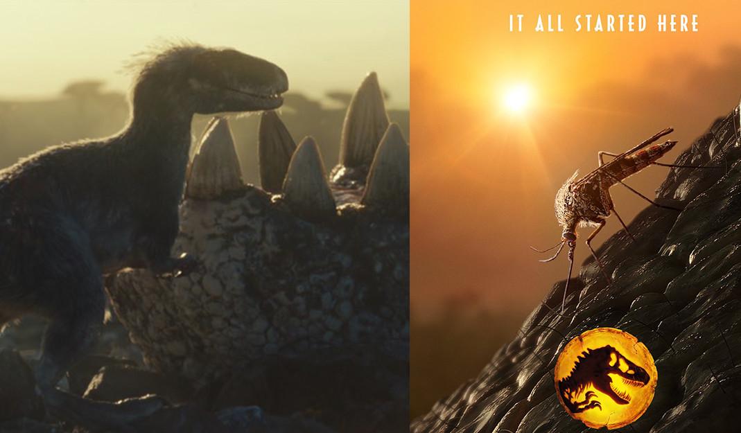 Jurassic World: Dominion realiza homenaje a las películas originales de la saga