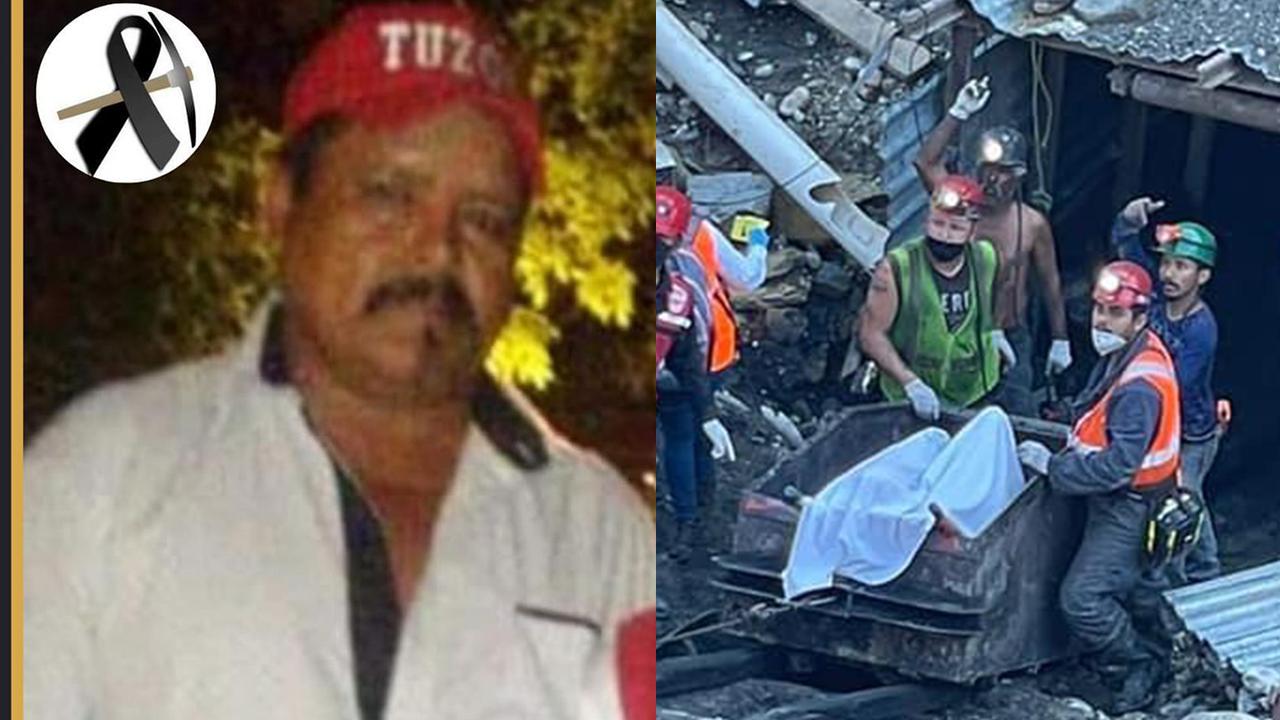Entre lágrimas y profunda tristeza, despiden a Mauricio Martínez, minero rescatado en Múzquiz