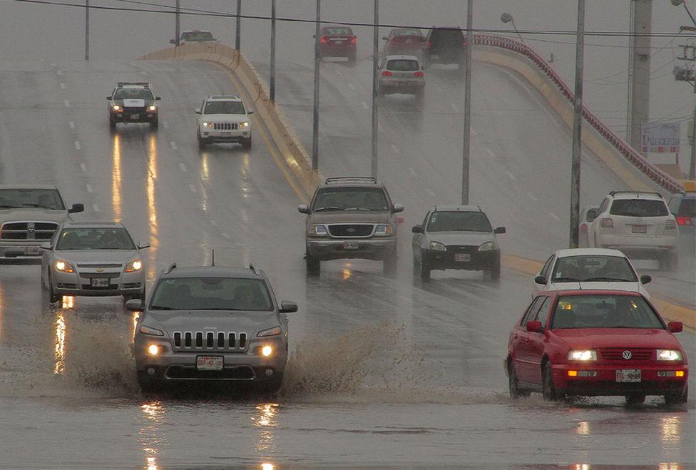 Reporta PC incidentes en Saltillo luego de las lluvias que cayeron en las ultimas horas