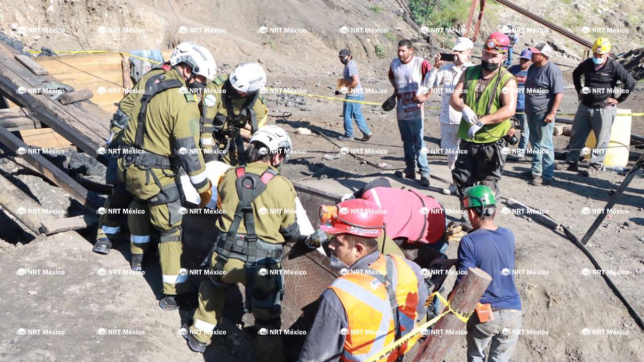 Localizado a minero atrapado en mina de Múzquiz; lo hallan muerto a 20 horas del derrumbe