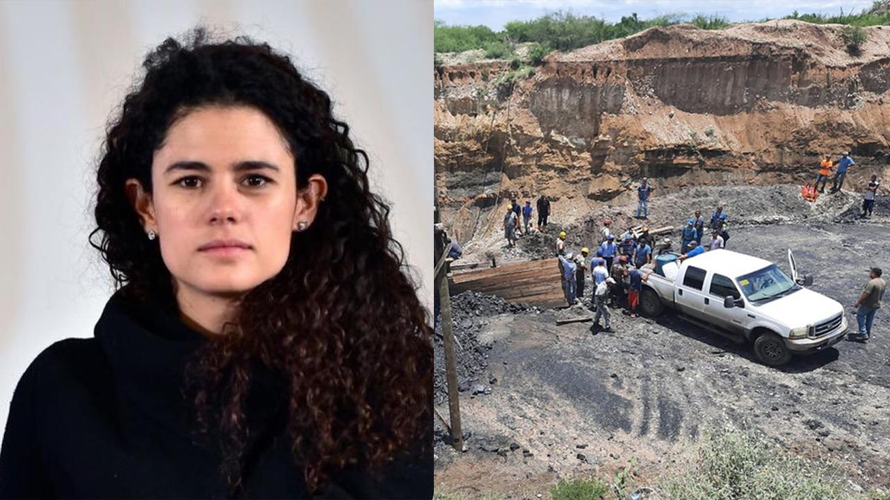 Luisa María Alcalde, secretaria del Trabajo, 'evade' a familiares de mineros atrapados en Múzquiz