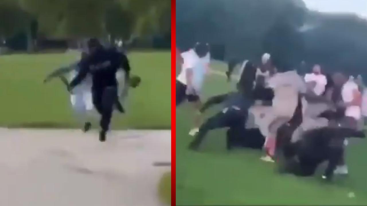 Adolescente de 17 años termina siendo atacado con machetes por una pandilla de jóvenes