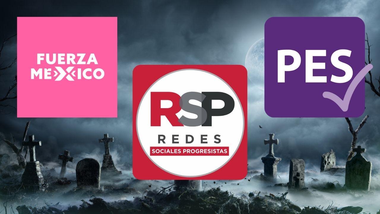 Adiós a Fuerza Por México, RSP y PES; no alcanzaron ni el 3% de los votos